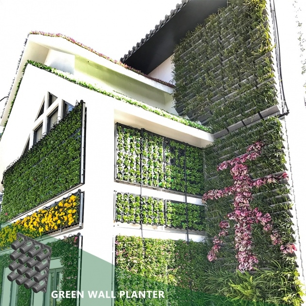 Outstanding Vertical Wall Planter Image