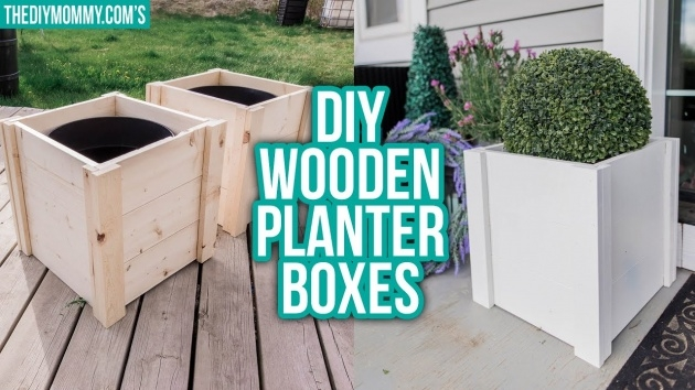 Perfect Diy Wooden Planters Photo