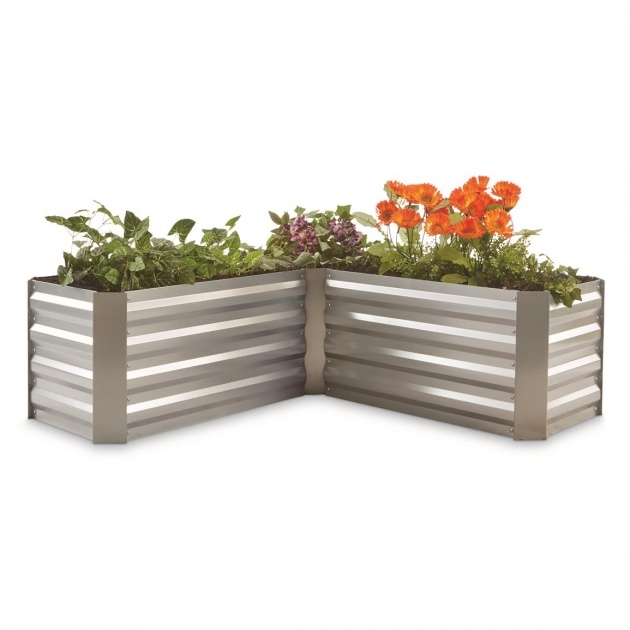Perfect Galvanized Steel Planter Boxes Photo