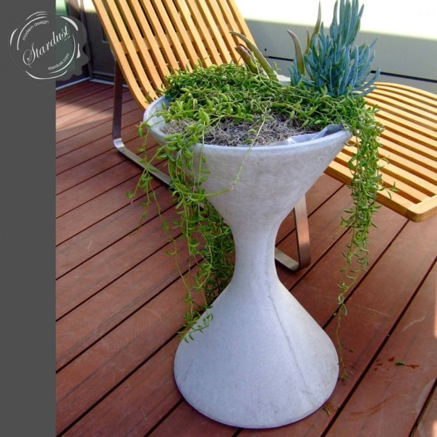 Perfect Modern Outdoor Planters Picture