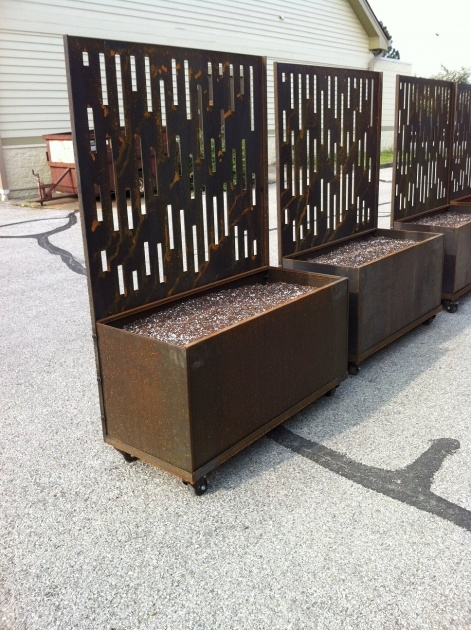 Perfect Movable Planter Boxes Photo