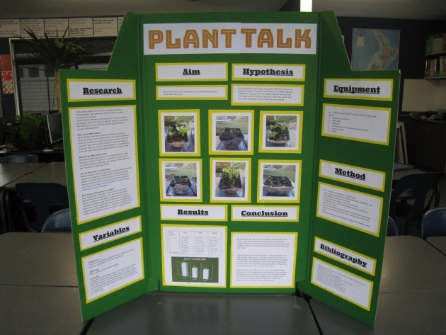 Perfect Music And Plants Science Fair Project Results Picture