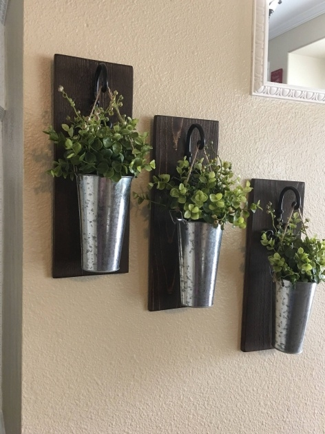 Perfect Rustic Wall Planter Picture