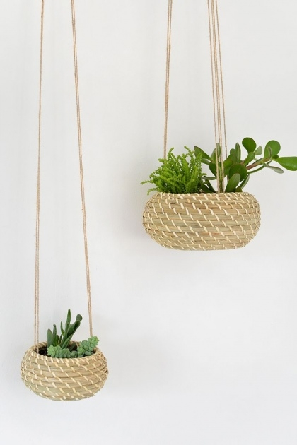 Perfect Woven Hanging Planter Picture