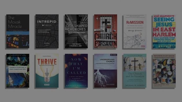 Popular Church Planting Books Picture