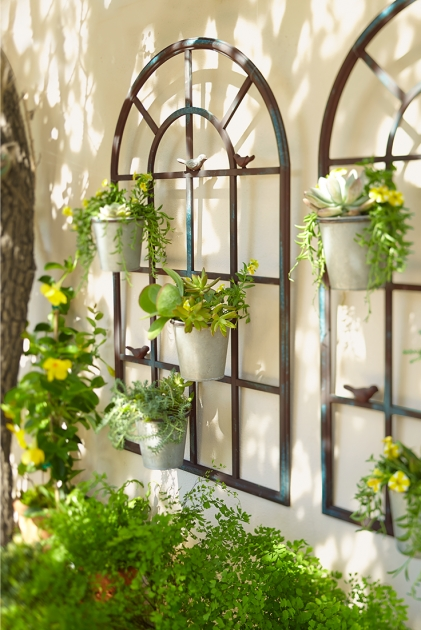 Popular Large Outdoor Wall Planters Photo