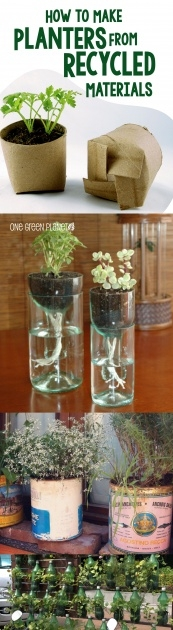 Popular Recycled Diy Planters Image