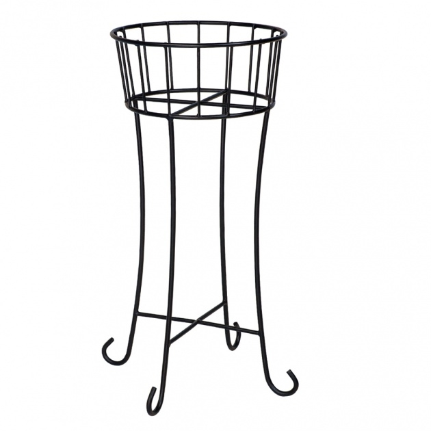 Sensational Wrought Iron Plant Stands Outdoor Image