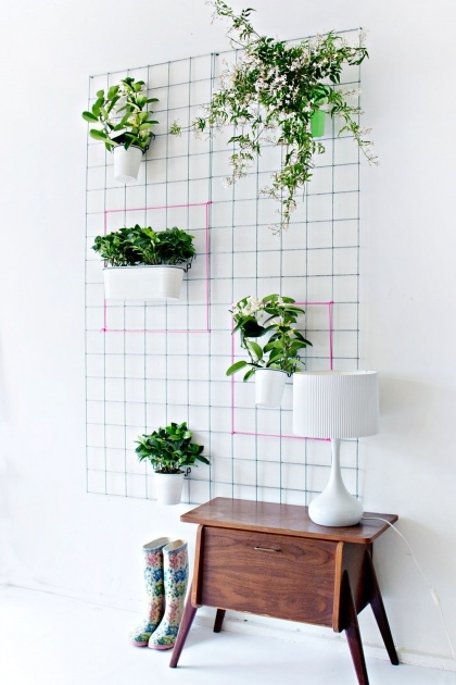 Simple How To Make A Plant Wall Picture
