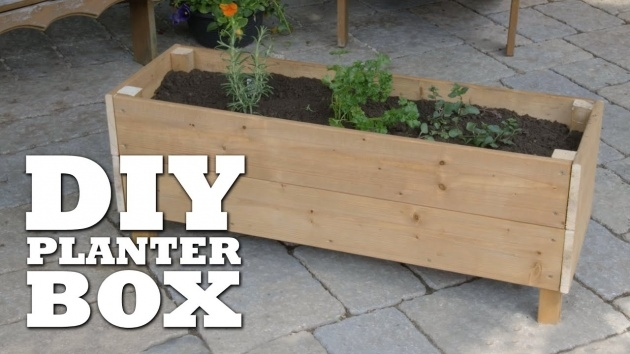 Splendid How To Make A Planter Box Picture