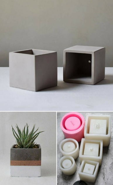 Stunning Cement Planter Molds Picture