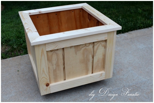 Stunning Making A Wooden Planter Box Picture