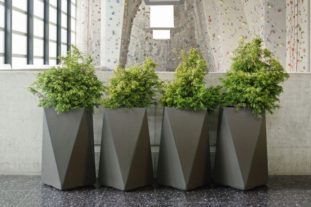 Stunning Modern Outdoor Planters Picture