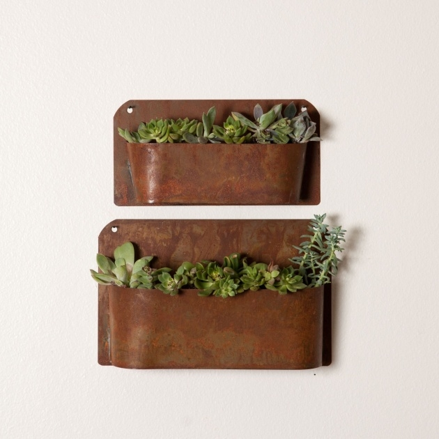 Stylish Rustic Wall Planter Picture
