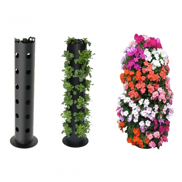 Super Cool Flower Tower Planter Picture