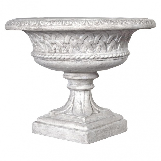 Top Cement Urn Planter Picture