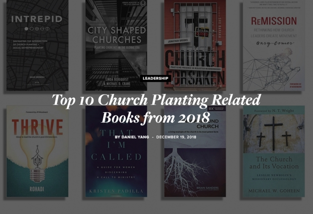 Top Church Planting Books Picture