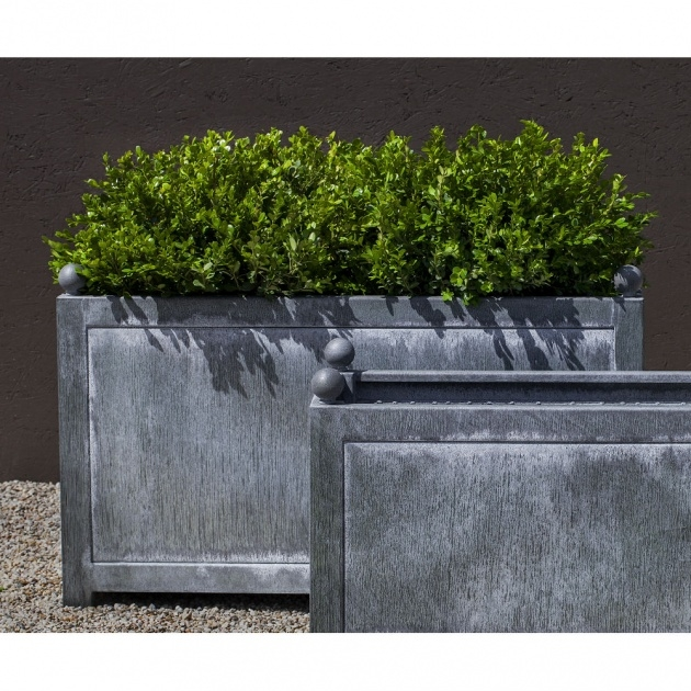 Top Large Rectangular Planters Picture