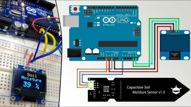 Top Lcdsoil Moisture Sensor Inteeface With Arduino Ande Image