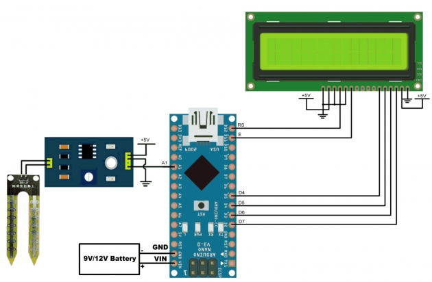 Top Lcdsoil Moisture Sensor Inteeface With Arduino Ande Photo