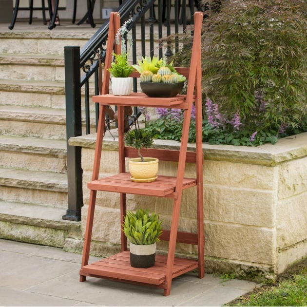Top Outdoor Plant Stand Image