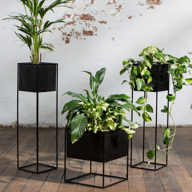 Top Planter Box Stands Outdoor Picture