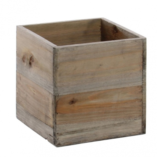 Top Rustic Wooden Planters Photo