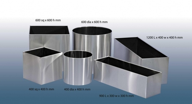 Top Stainless Steel Plant Pots Image